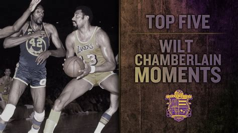 Lakers Nation Best Of: Top 5 Wilt Chamberlain Lakers ...