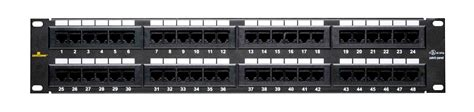 Patch Panel 6 by Patch Panel Cat 6 48 19inch Rack Mount