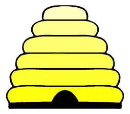 Cartoon Bee Hive Clip Art