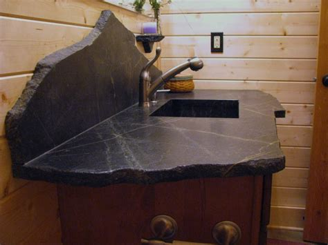 Soapstone Vanity Top by Saratoga Soapstone Vanity Top Eclectic Vanity Tops And