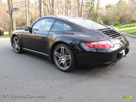 porsche carrera 2007 2007 porsche 911 carrera 4s coupe in basalt black metallic