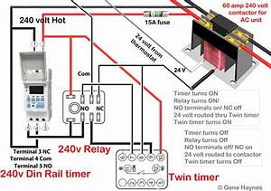 Din Rail Timer Wiring Diagram
