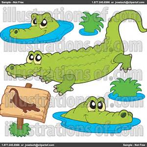 Crocodile Alligator Clip Art