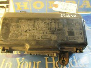 Honda Accord Door Under Hood Fuse Box With