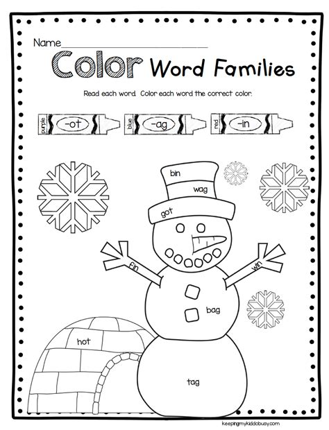 preschool worksheets for january snowman math and reading activities winter worksheets