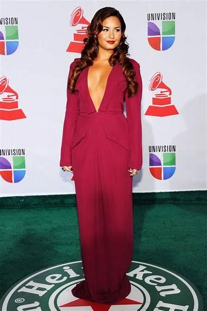 Lovato Demi Latin Awards Grammy Vegas Las