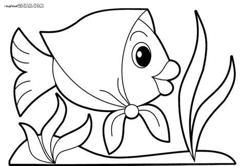 gambar mewarnai ikan di laut