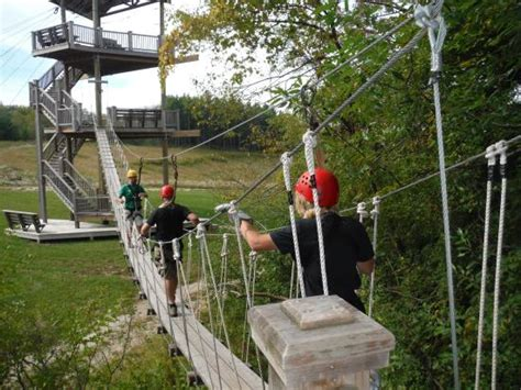 lake geneva canopy tours okay dan gerous was on the silly side picture of