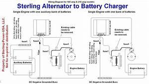 24 Volt  100 Amp Alternator To Battery Charger