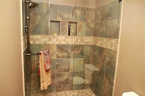 earth tone bathroom designs earth tone shower