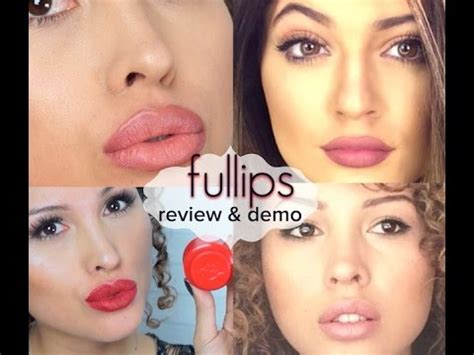 Fullips Review And Demo! 💋  Oxspiffyxo Youtube