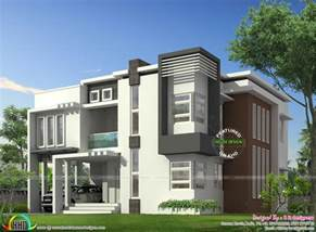 contemporary home design plans january 2016 kerala home design and floor plans