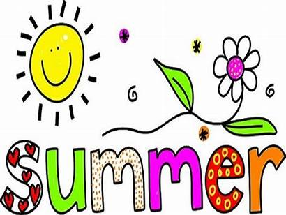 Summer Clip Clipart Happy Word Vacation Words