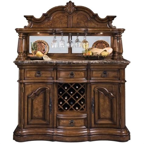 Pulaski Furniture Bar Cabinet by Pulaski San Mateo Home Bar Wood Hide A Bar Wine Bar