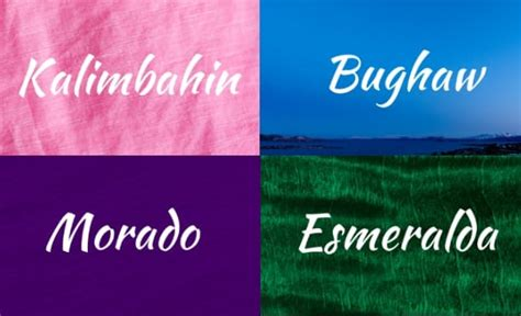 16 Colors And Their Beautiful Names In The Philippine Language