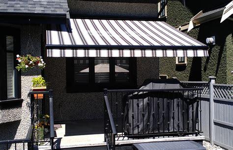 black awning frame  black window frames rolltec retractable awnings toronto ontario