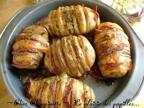 recette de pommes de terre papillon cheddar bacon