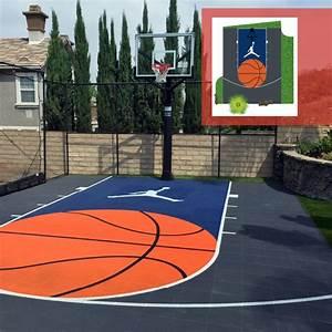 design your own court design backyard basketball court With home basketball court design