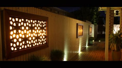 litecrafts wall outdoor feature led light boxes