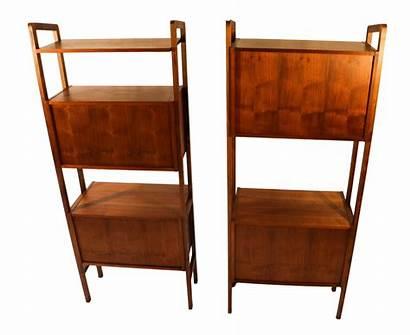 Divider Mid Century Modern Bookcase Storage Hutch