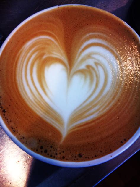 It's what gets a lot of people really pumped about making coffee. We HEART you!   Latte art, Latte, Create