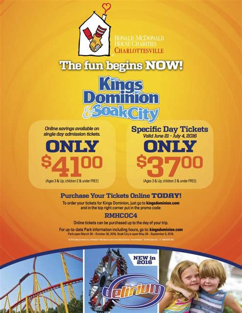 Kings Dominion Ticket Deals  Ee  Gift Ee   Ftempo