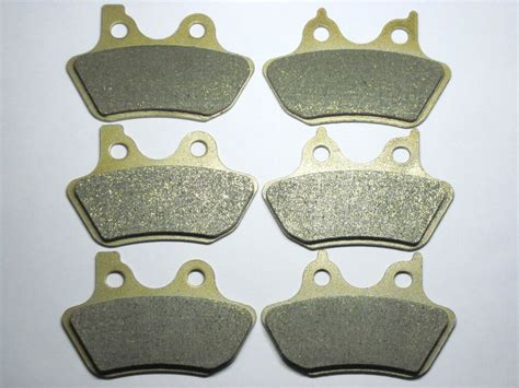 Front Rear Brake Pads For Harley Flhtcu-i Electra Glide