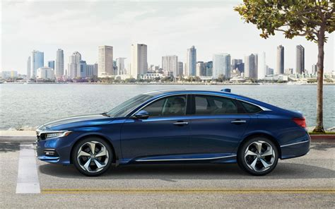 Honda Accord 4k Wallpapers by Wallpapers Honda Accord 2018 4k Blue Sedan