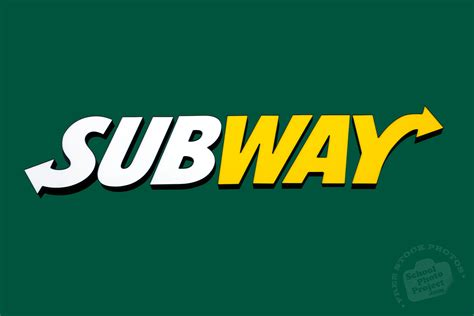 Free Subway Logo, Subway Restaurant Identity, Popular