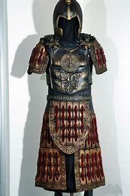 Ancient Chinese Warrior Armor