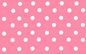 Cute Polka Dot Pink Wallpaper Backgrounds | Pink Wallpaper ...