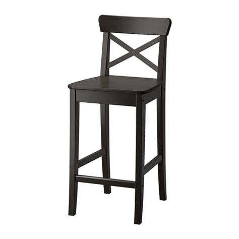 Chaise Ingolf Occasion by Ingolf Bar Stool With Backrest Ikea