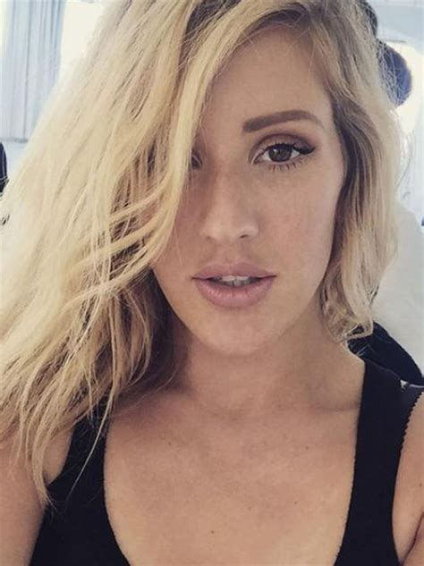 The flowing hair... the smoky eyes... Ellie's got her # ...