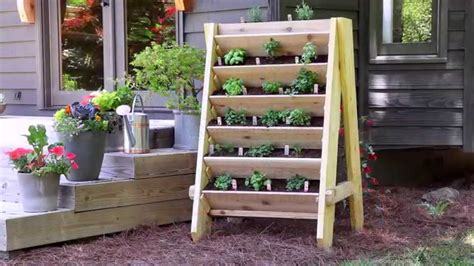 suspended shelf ideas how to build a vertical herb planter