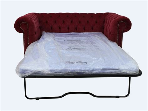 Chesterfield Bed Settee by Chesterfield 2 Seater Settee Sofa Bed Pimlico Wine Fabric