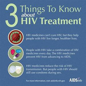 3 Things to Know about HIV Treatment | AIDSinfo