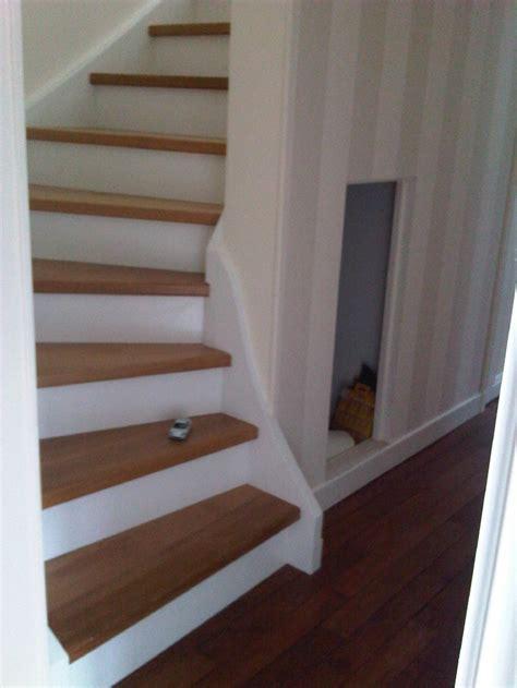 revger photo escalier en bois peint en blanc id 233 e inspirante pour la conception de la maison