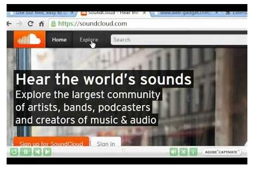 firefox mp3 stream downloader