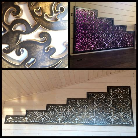 laser cut metal decorative wall art panel sculpture for