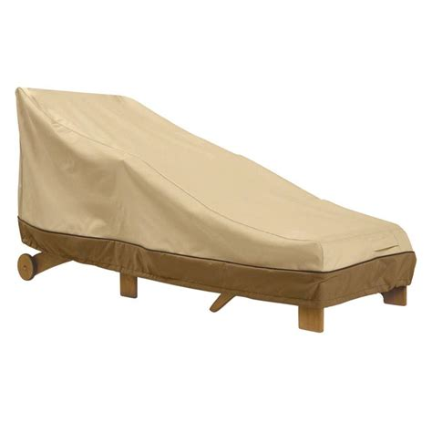 classic accessories veranda large patio chaise cover 55