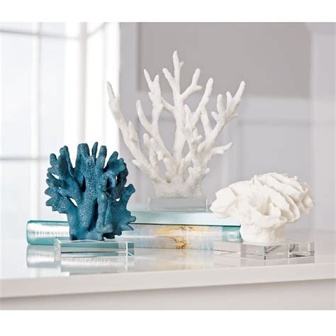 resin coral decor mud pie