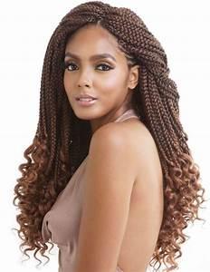 "Mane Concept Afri Naptural Crochet Curly End Box Braid 18"" Elevate Styles"