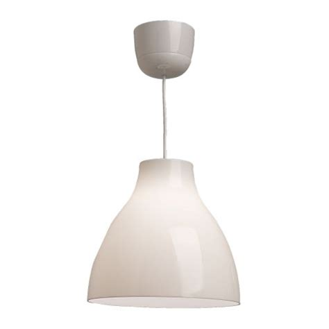 ikea melodi pendant l ceiling light shade white dining