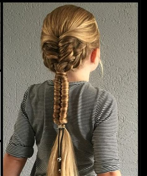 lovely mixed braided long hairstyles   toddler