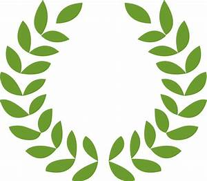 File:Greek Roman Laurel wreath vector.svg - Wikimedia Commons