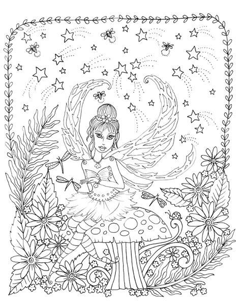 zendoodle coloring magical fairies deborah muller