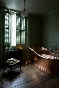 Petite Baignoire Retro : 40 photos d 39 int rieur de la baignoire ancienne ~ Edinachiropracticcenter.com Idées de Décoration