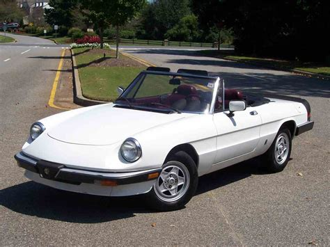 1985 Alfa Romeo 2000 Spider Veloce For Sale