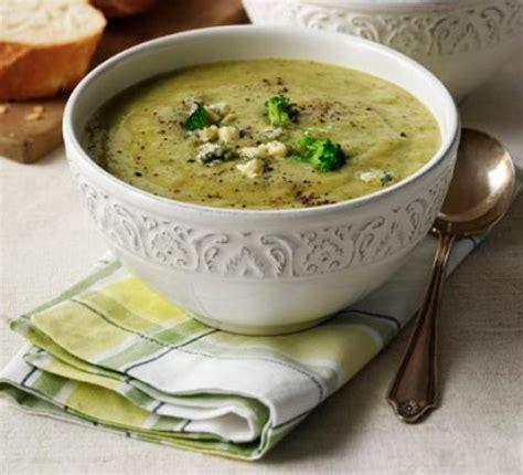 broccoli stilton soup recipe bbc good food