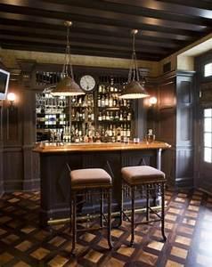 Wohnzimmer Mit Bar : 30 id es de meuble bar pour votre int rieur ~ Michelbontemps.com Haus und Dekorationen